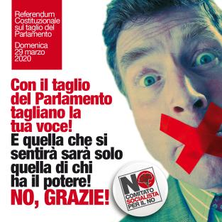 Banner NO - Tagliano la tua voce (1)